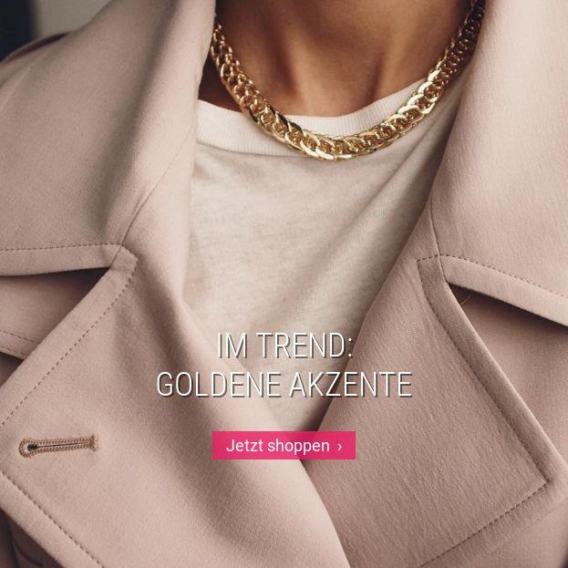 Im Trend: Goldene Akzente