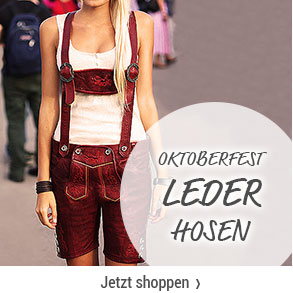 Oktoberfest Looks - Lederhosen