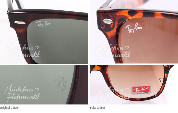 wie original ray ban brille erkennen